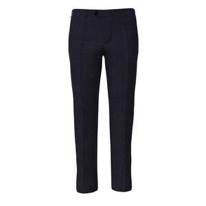 Trousers Navy Blue Melange