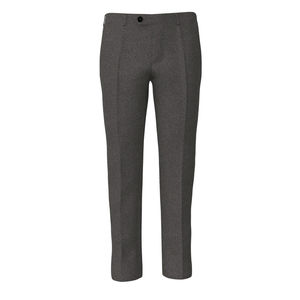 Trousers Grey Houndstooth Flannel