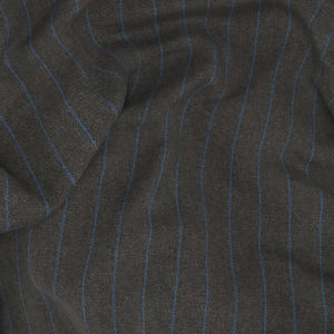 Suit Grey Blue Stripe