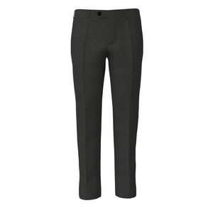 Trousers Grey Blue Stripe